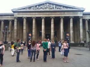 British museum standing